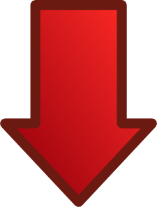 Arrow down red 01